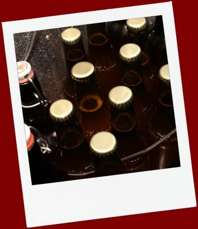 botellas en camara