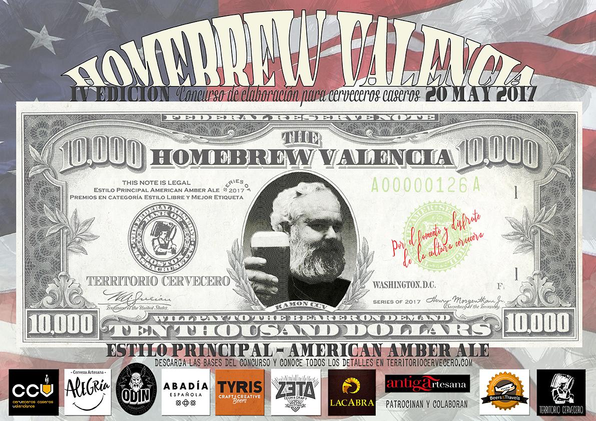 poster homebrew valencia IV edicion