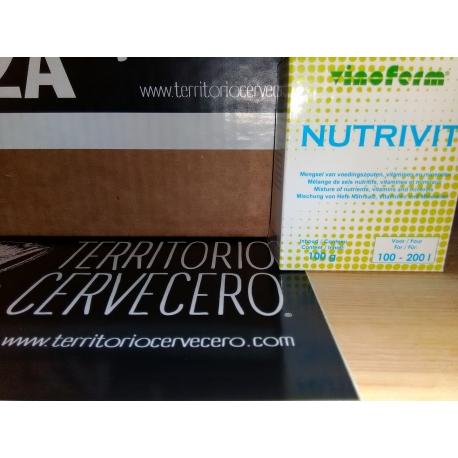 NUTRIENTES PARA LEVADURAS NUTRIVIT 100G