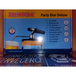 GRIFO DISPENSADOR PARA BARRIL DE CERVEZA CO2