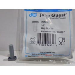 John Guest tapon macho 3/8
