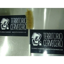 CEPILLO LIMPIADOR BOTELLAS DE CERVEZA