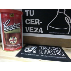 Kit de cerveza Coopers English Bitter