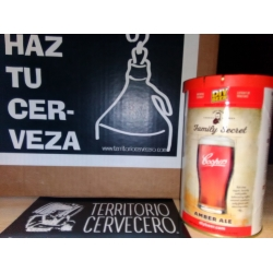 Kit de cerveza Coopers Family Secret Amber Ale 1.7kg