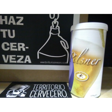 Kit de cerveza Mr. Malt® Premium Pilsner