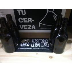 Botella de cerveza 33cl marrón (PACK 24unidades)