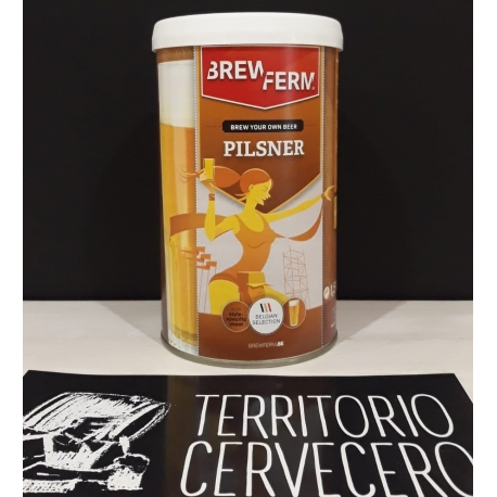 KIT DE CERVEZA PILSNER
