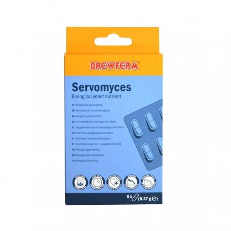 Brewferm Servomyces Nutrientess para levadura - 6 capsulas