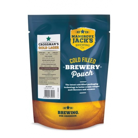 Kit de cerveza Mangrove's Crossmans Gold Lager
