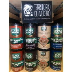 KIT DE CERVEZA BLACK ROCK