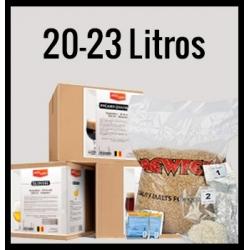 KITS  DE CERVEZA ARTESANA 20 LITROS